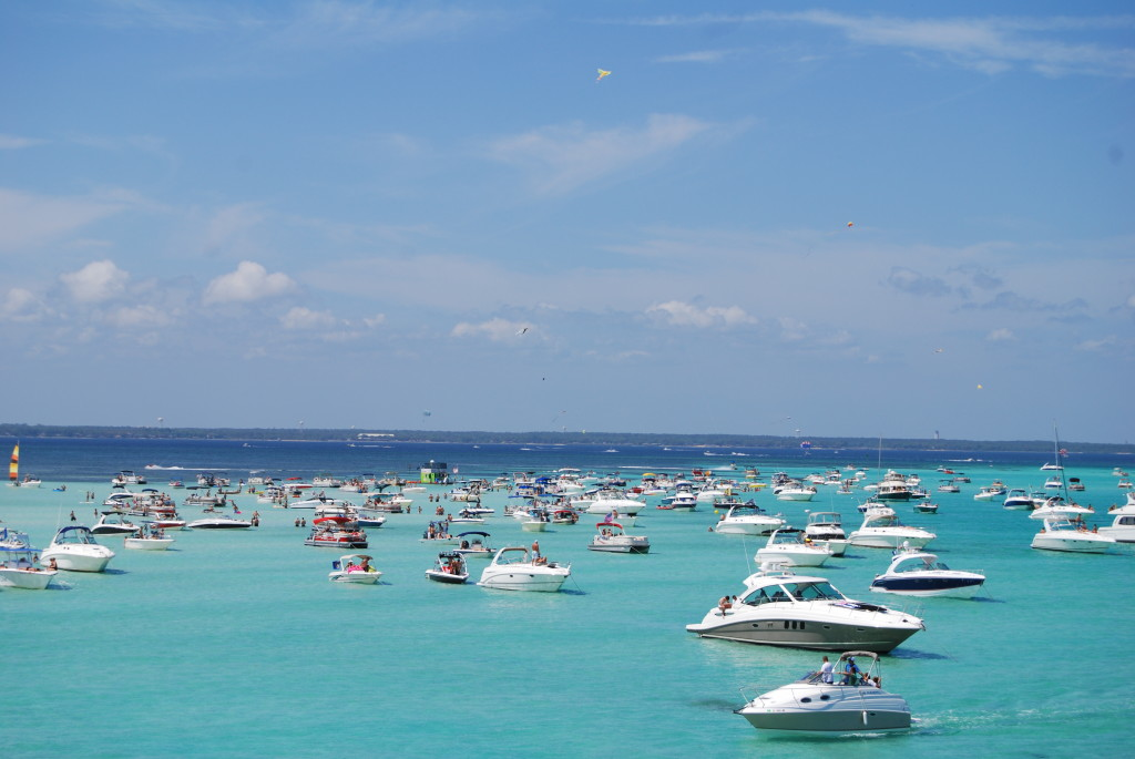 rent a boat in Destin