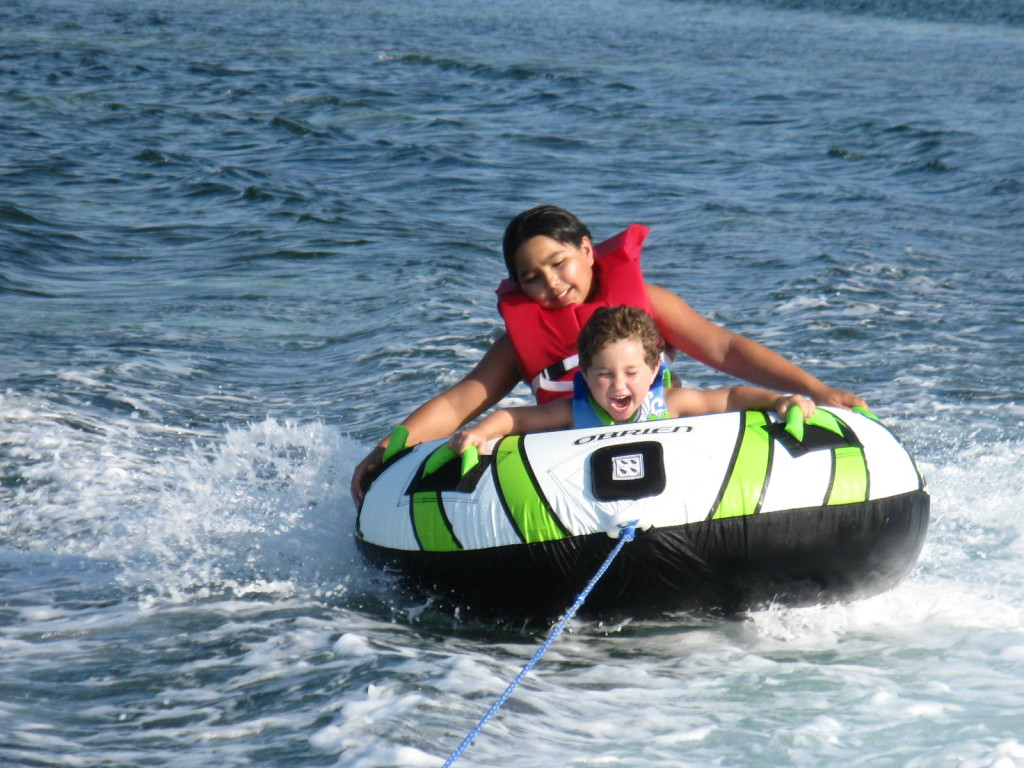 Destin water sports tubing