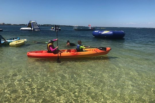 destin snorkel tours snorkeling kayaks inflatables